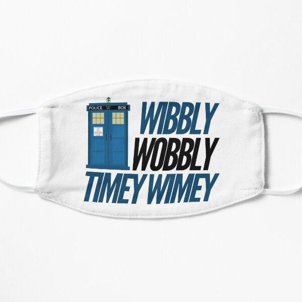 Docteur qui - Wibbly Wobbly TImey WImey Masque sans plis