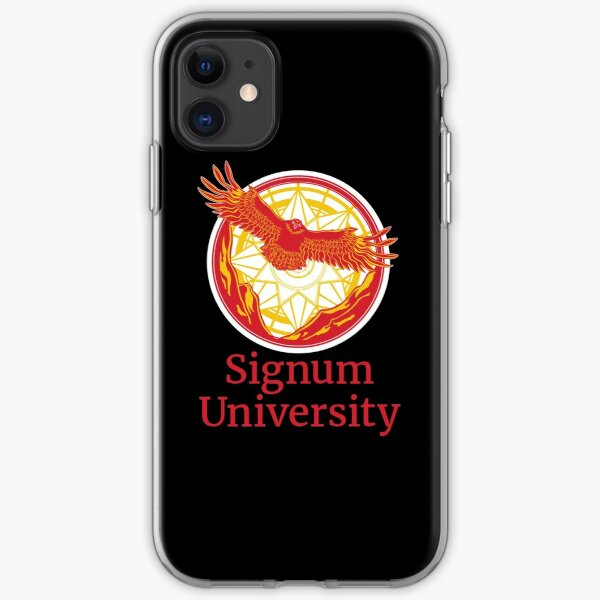 Signum University Logo iPhone Soft Case