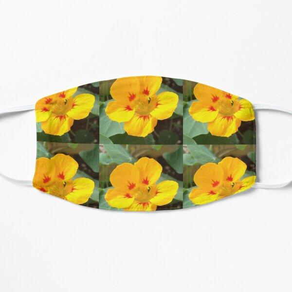 Yellow Nasturtium Flat Mask