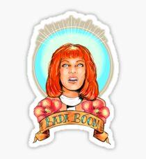 St. Leeloo of the Big Bada Boom Sticker