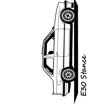 E30 Stance by voha98