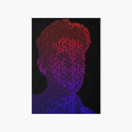 Orwell - Red/Blue Art Board Print