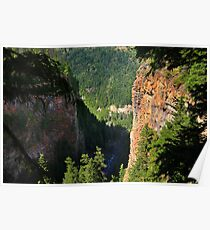 Spahats Creek Canyon Poster