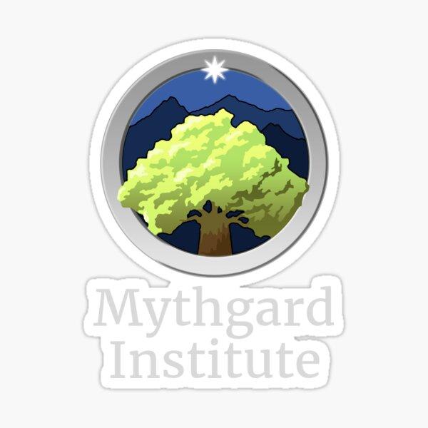 Mythgard Institute Logo Sticker