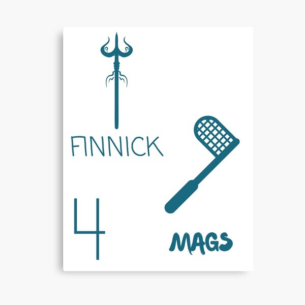 Finnick and Mags Canvas Print
