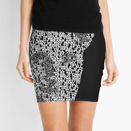 Orwell - White Mini Skirt