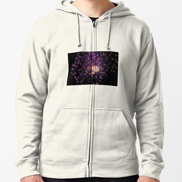 Milkyway Fireworks Zipped Hoodie