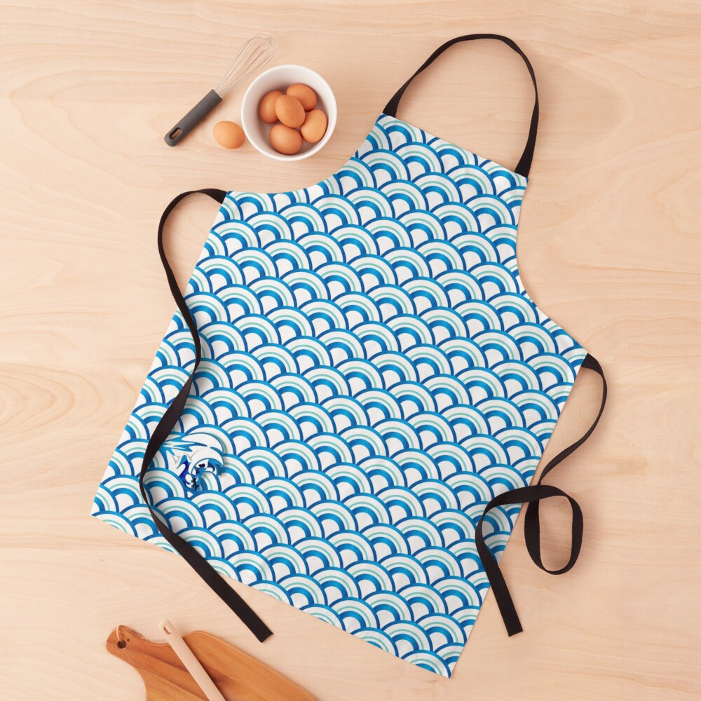Your Vibe Makes Waves 001 Apron
