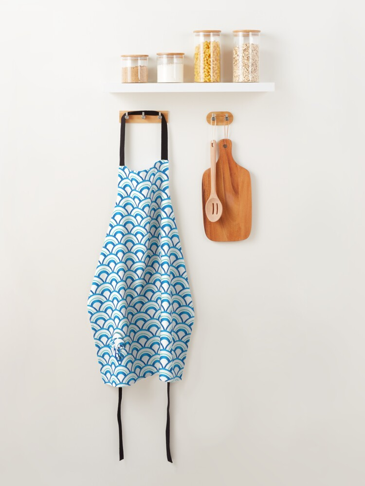Alternate view of Your Vibe Makes Waves 001 Apron