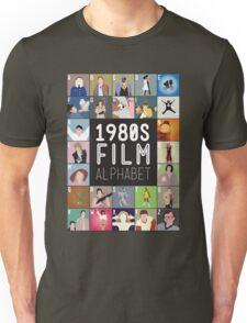 1980s Film Alphabet Tee T-Shirt