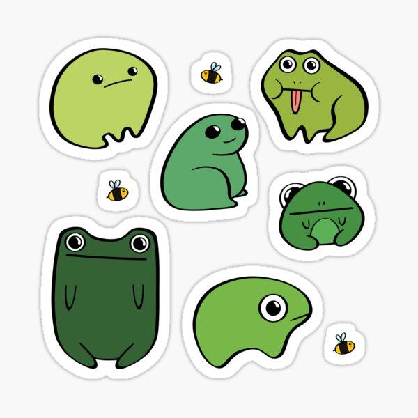 Uglee Frogs Sticker