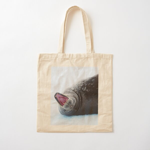 Seal of Approval Cotton Tote Bag