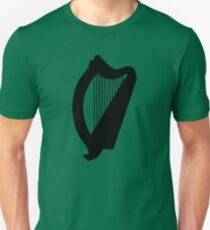 irish harp celtic irland Unisex T-Shirt