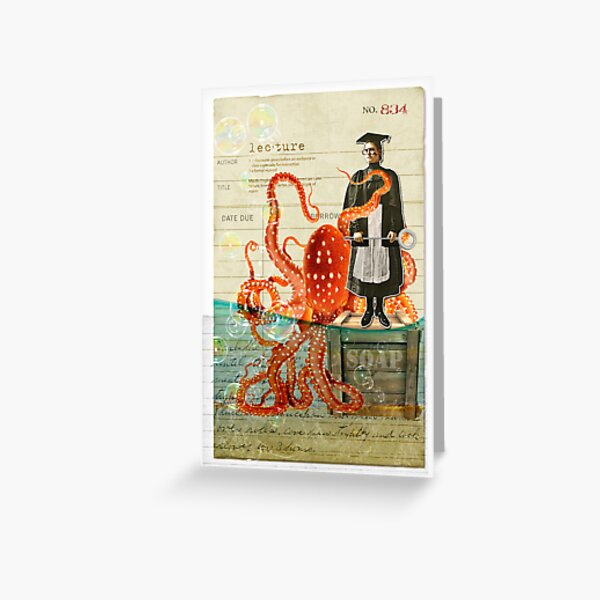 Lecture Greeting Card