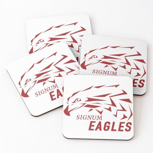 Signum Eagles Sport Coasters (Set of 4)