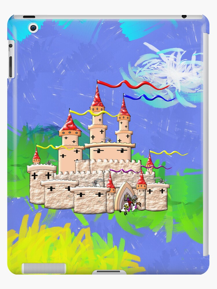A Castle In Days of Old iPad/iPhone/iPod cases by Dennis Melling