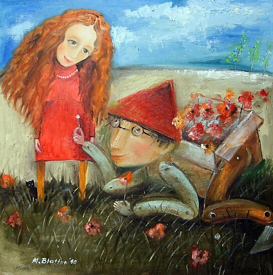 Pick Wildflowers For You by Monica Blatton