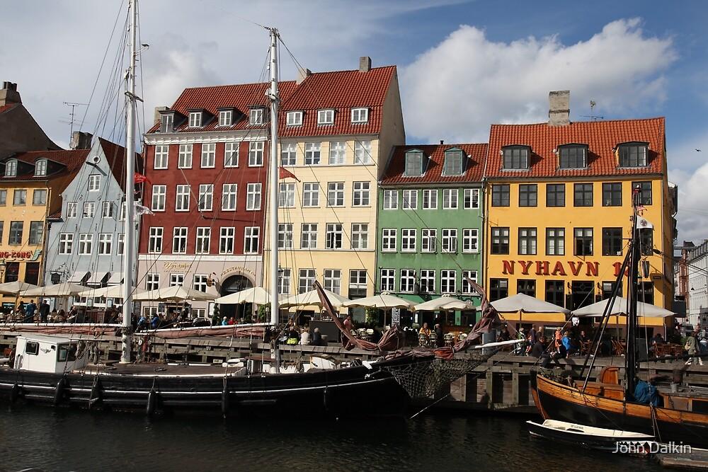 Nyhavn Architecture by John Dalkin
