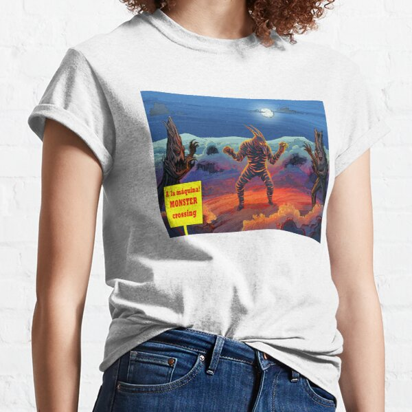 A la máquina! MONSTER crossing Classic T-Shirt