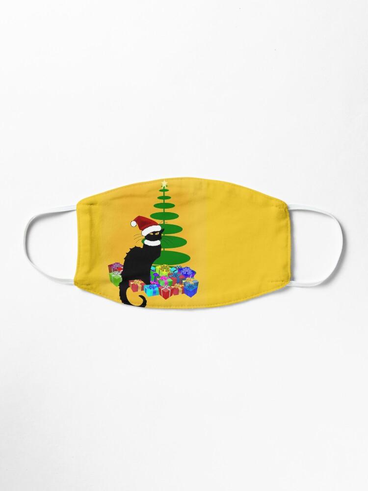 Alternative Ansicht von Weihnachten Le Chat Noir mit Weihnachtsmütze Maske