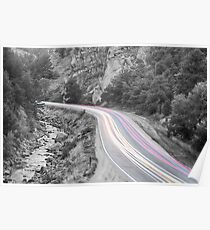 Boulder Canyon Drive and Selective Colorado Commute Poster