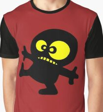 man cartoon fun funny swag boy Graphic T-Shirt