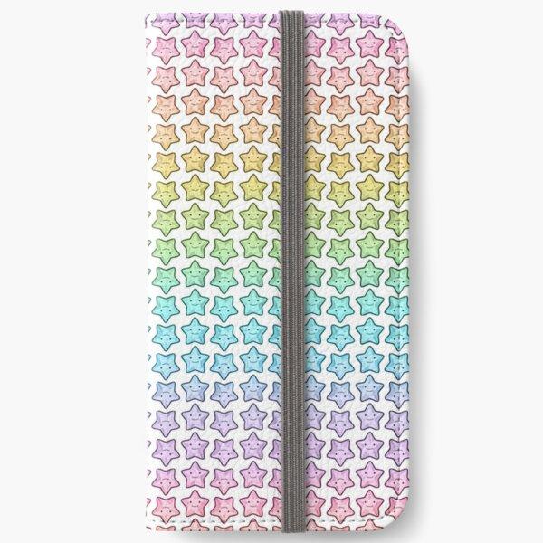Rainbow Starfish iPhone Wallet