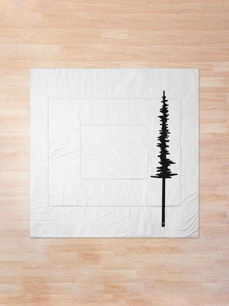 Alternate view of Minimalist Tree Comforter