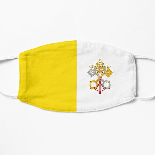 Drapeau Vatican  Masque sans plis