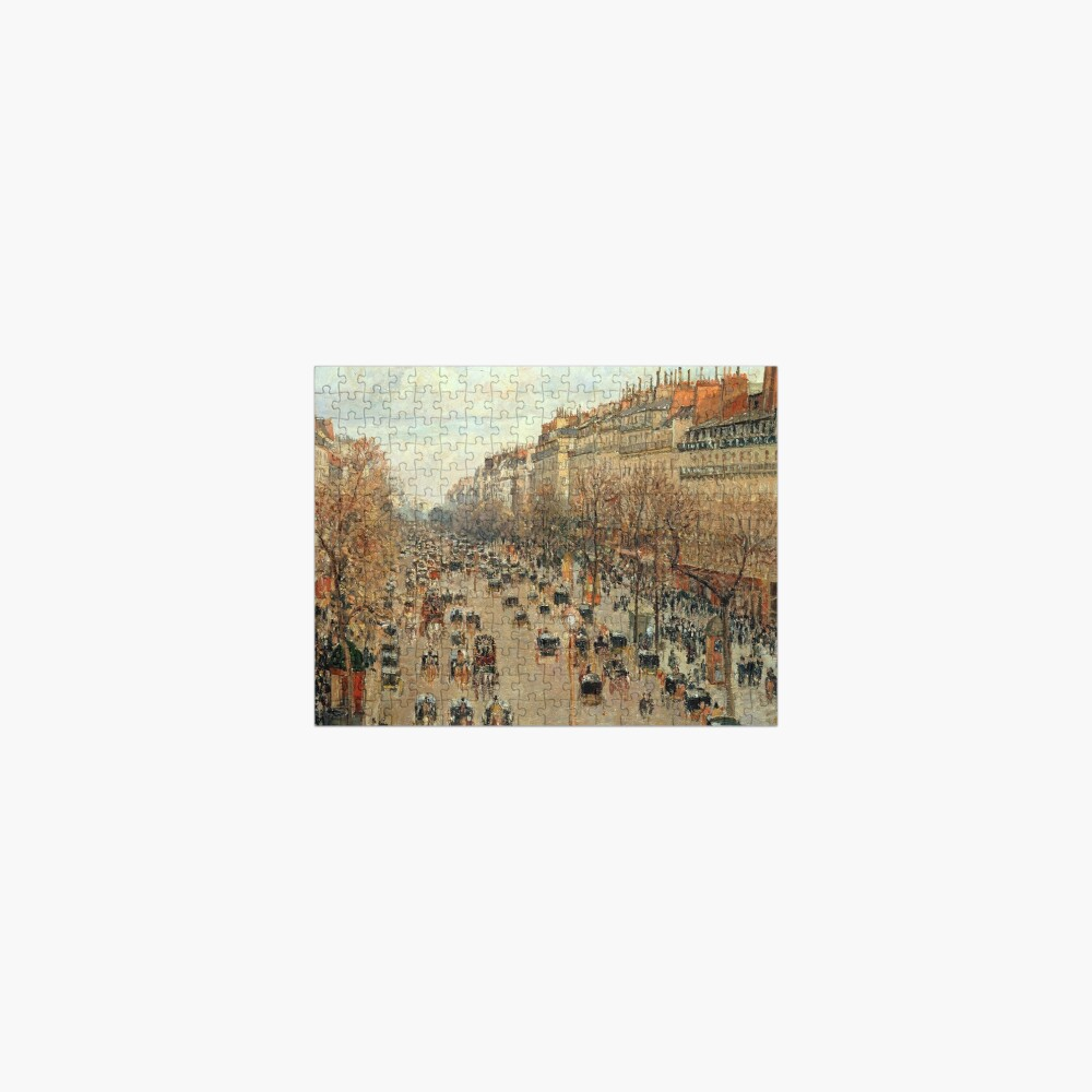 Camille Pissarro Streets of Paris Jigsaw Puzzle Jigsaw Puzzle