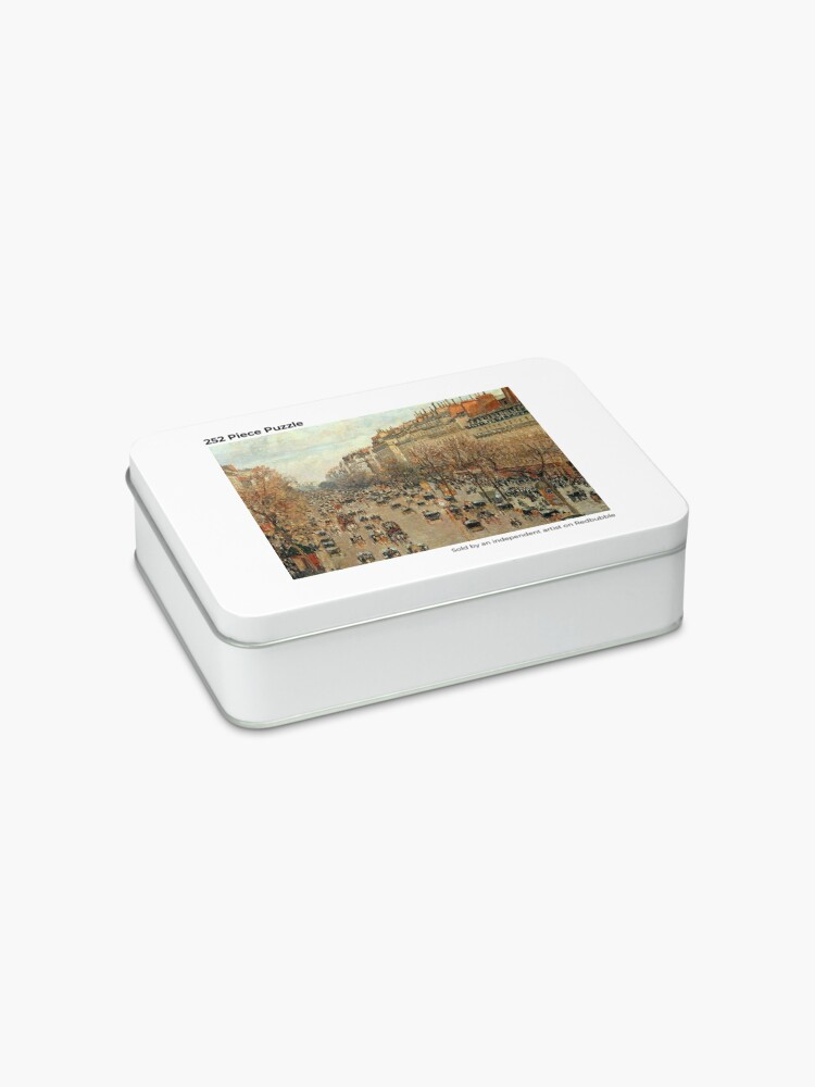 Alternate view of Camille Pissarro Streets of Paris Jigsaw Puzzle Jigsaw Puzzle