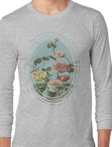 Vintage Tea Rose and Blush Roses T-Shirt