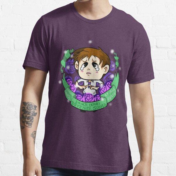 Shinji Ikari Defense Squad Essential T-Shirt
