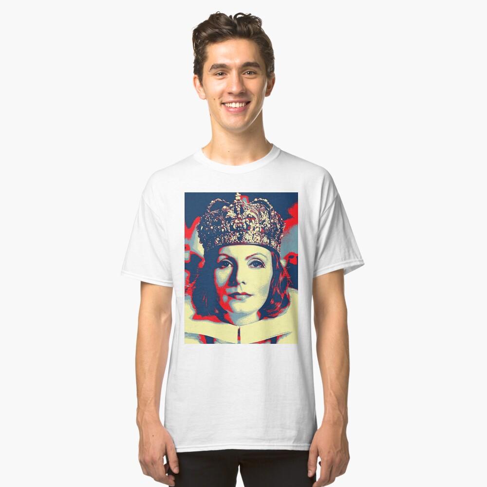 Greta Garbo in Queen Christina Classic T-Shirt Front