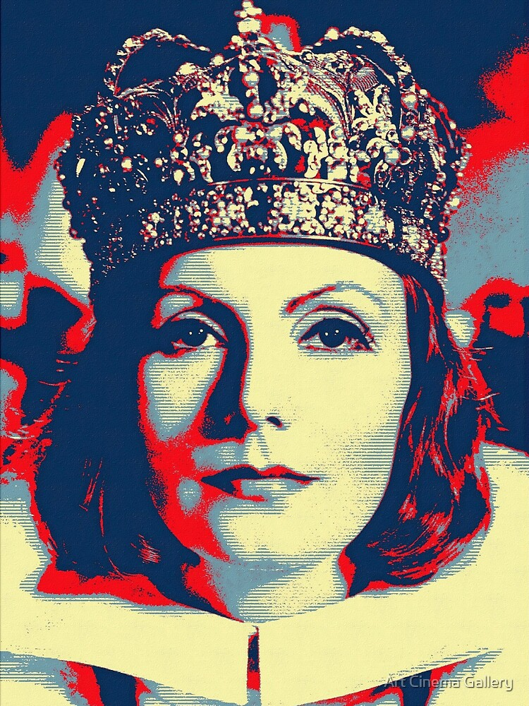 Greta Garbo in Queen Christina by artcinemagaller