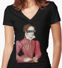 Mary, Queen of Scots Women's Fitted V-Neck T-Shirt