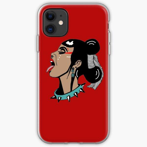 Diné punk  iPhone Soft Case