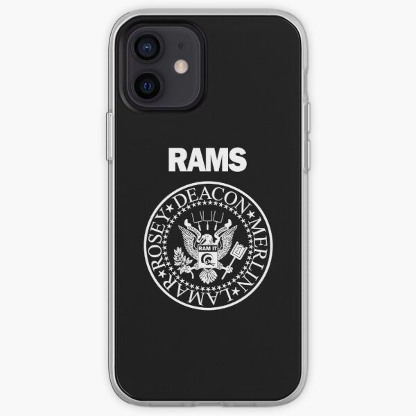 RAM[one]S - Fearsome Foursome - White iPhone Soft Case