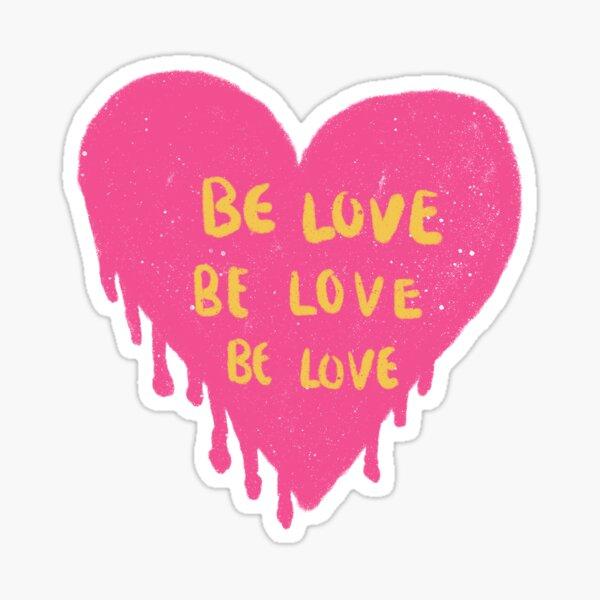 be love be love be love pinterest Sticker