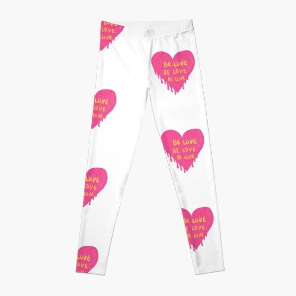be love be love be love pinterest Leggings