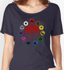 Pokemon TCG Types Women's Relaxed Fit T-Shirt