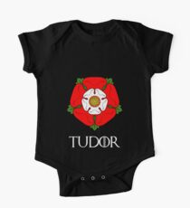 The House of Tudor - with text One Piece - Short Sleeve