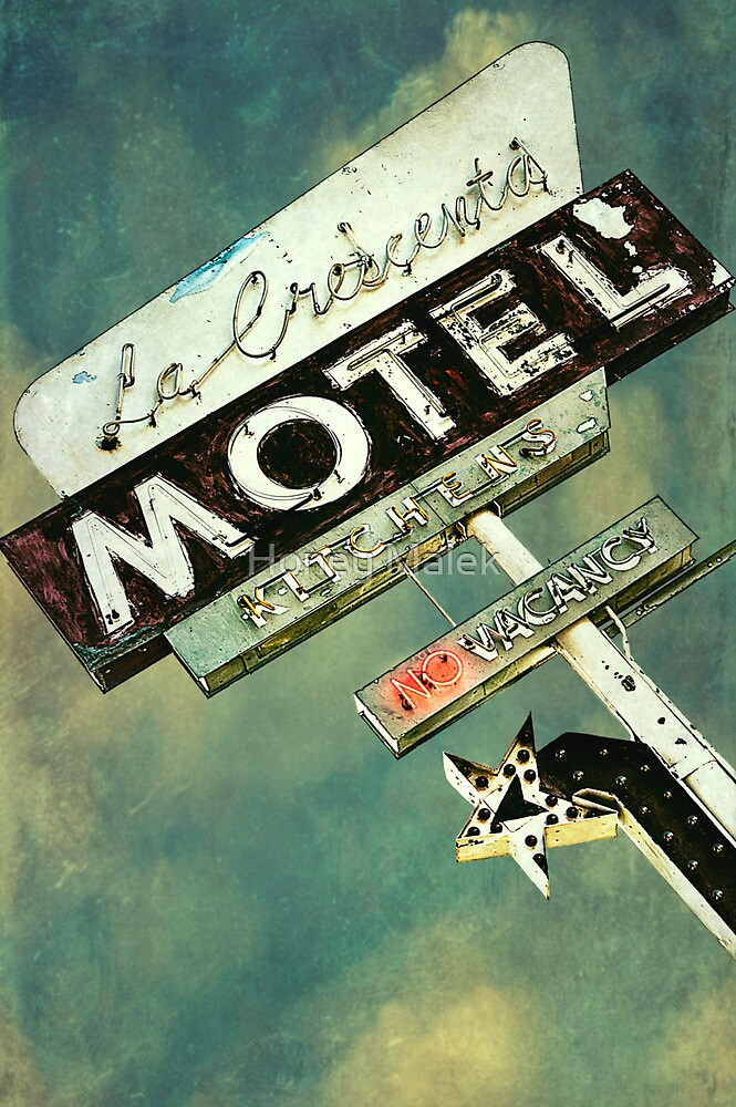 La Crescenta Vintage Motel Sign by Honey Malek