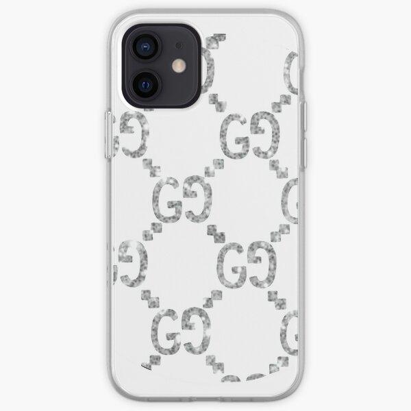Designer Brand logo print iPhone Soft Case