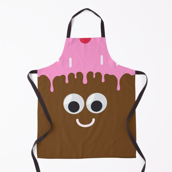Cute little cake with googly eyes Apron