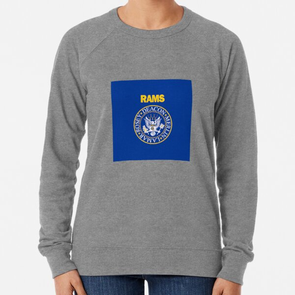 RAM[one]S - Fearsome Foursome - Blue & Yellow Lightweight Sweatshirt