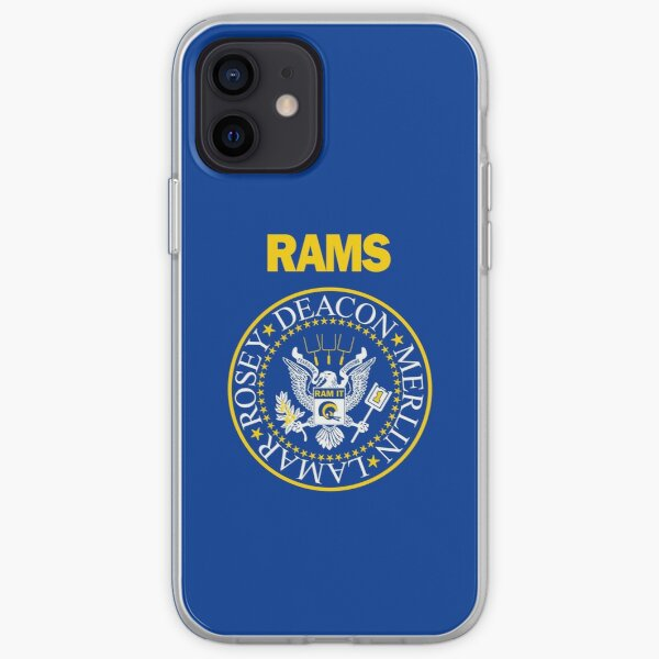 RAM[one]S - Fearsome Foursome - Blue & Yellow iPhone Soft Case