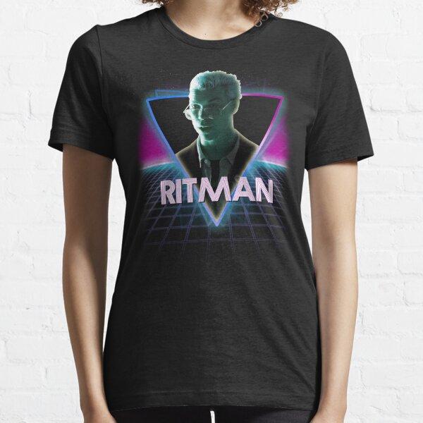 Black Mirror Bandersnatch Colin Ritman Retro 80s Neon Landscape Essential T-Shirt