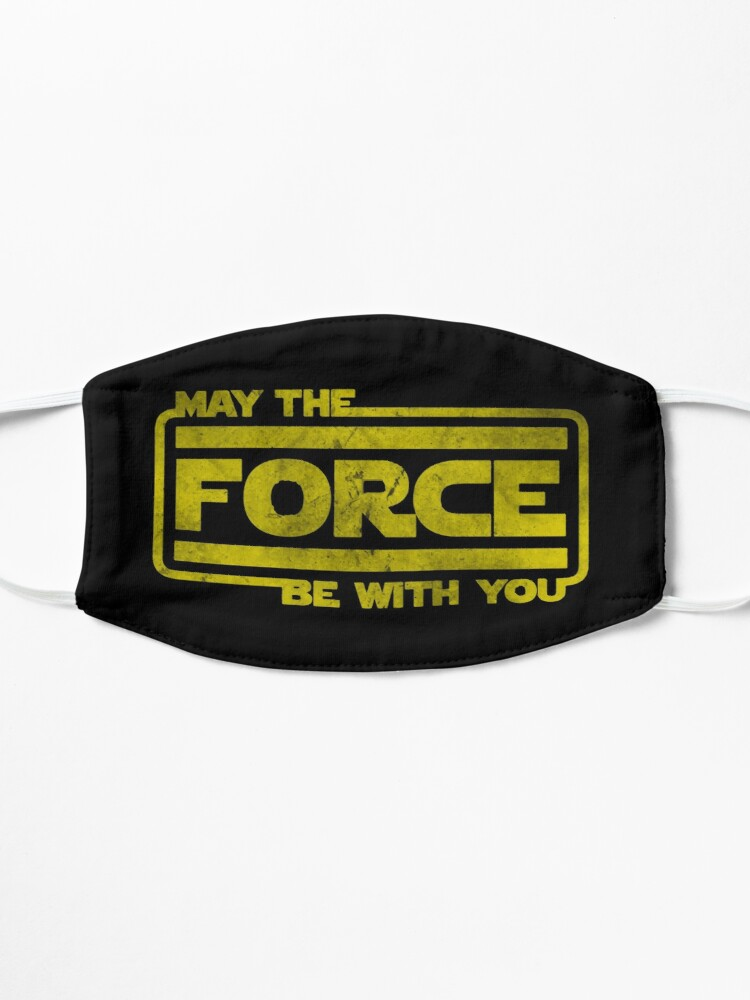 Alternate view of May The Force Be With You Mask