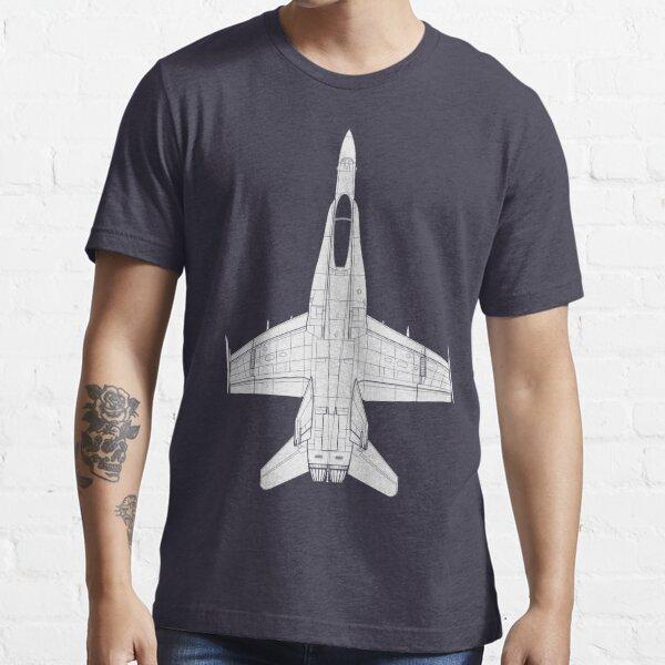 McDonnell Douglas F-18 Hornet Essential T-Shirt
